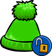 Green Pom Pom Toque unlockable icon