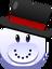 Pingüinonieve Emoticón