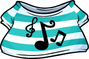 Pop-n-Lock Music Shirt clothing icon ID 4606