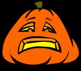Sad Jack-O-Lantern sprite 001