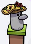 Sombrero de pizza gl