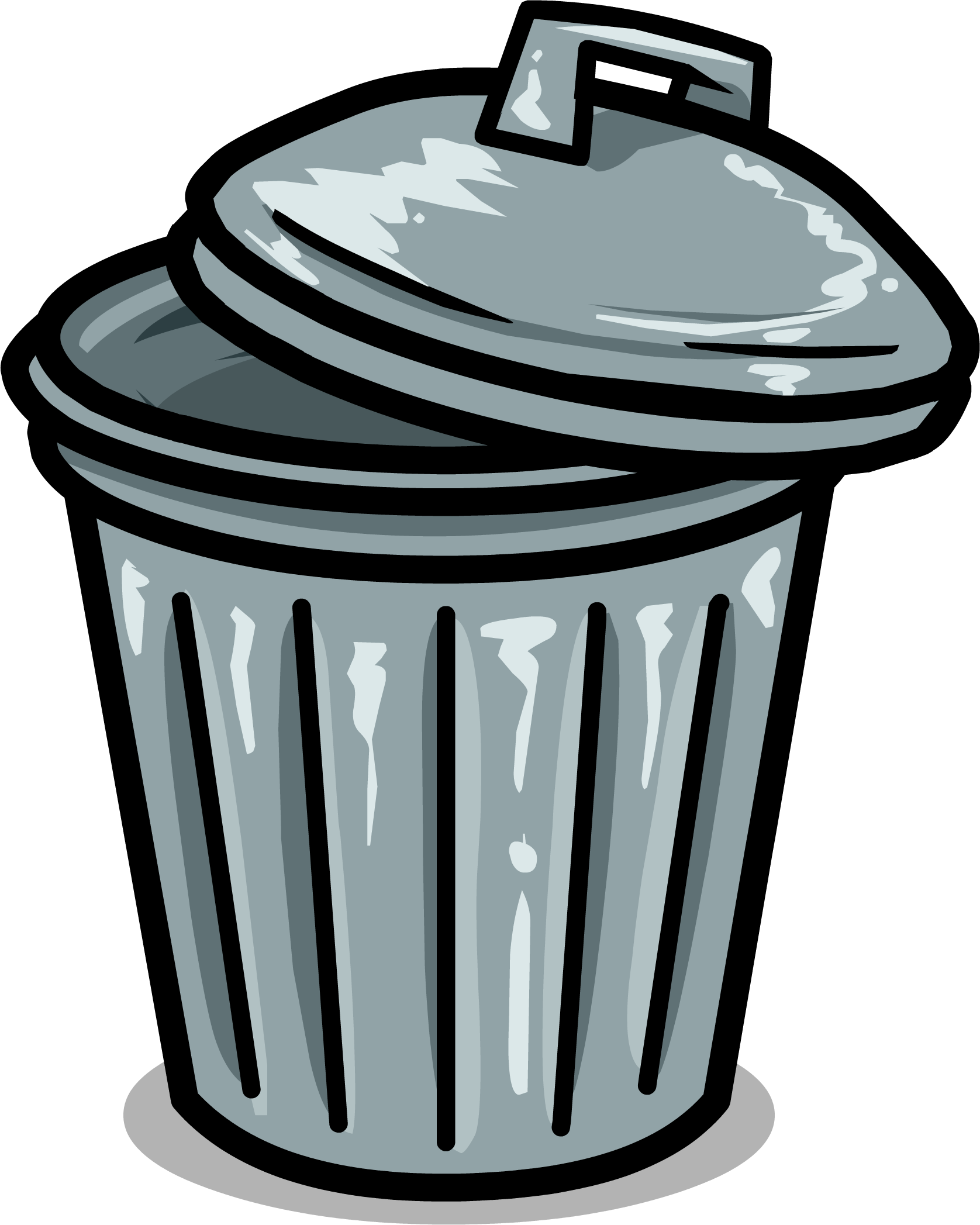 trashcan club penguin wiki fandom powered by wikia rh clubpenguin wikia com trash can clipart trash can pictures clip art