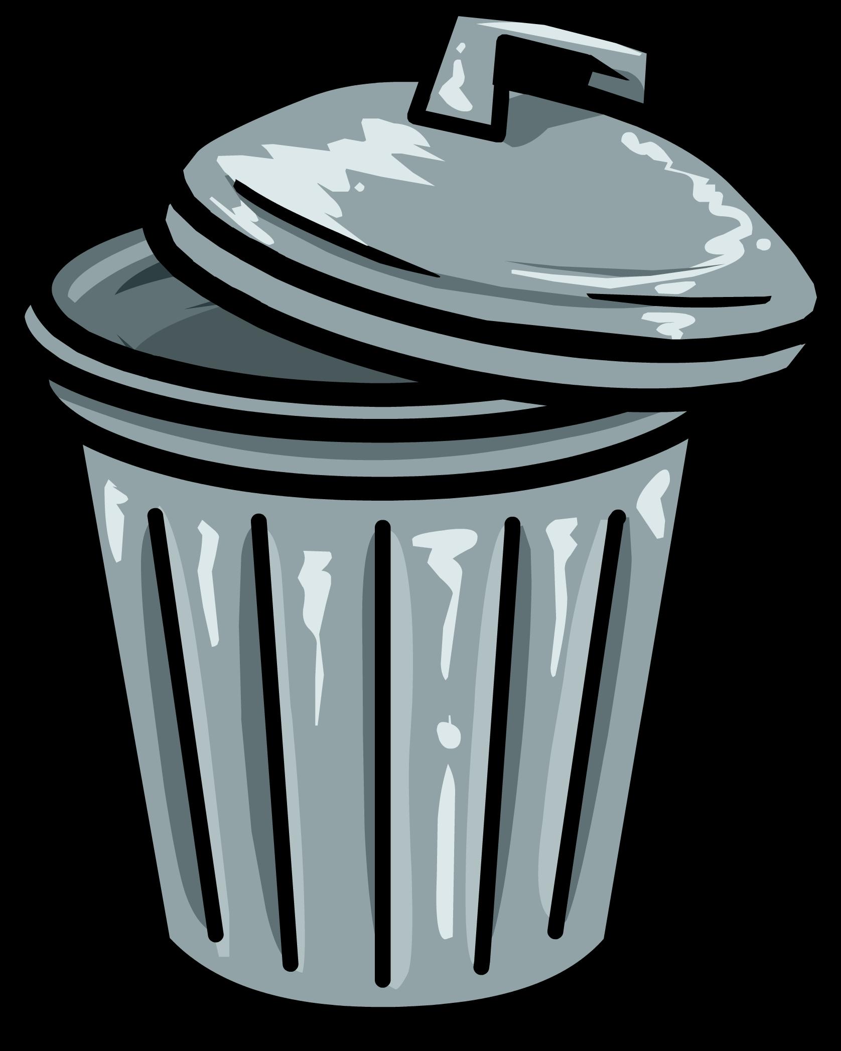 trashcan club penguin wiki fandom powered by wikia rh clubpenguin wikia com trash can clipart black trash can clip art free