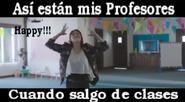 Así están mis profesores