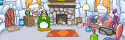Aunt Arctic's igloo during Case of the Missing Puffles
