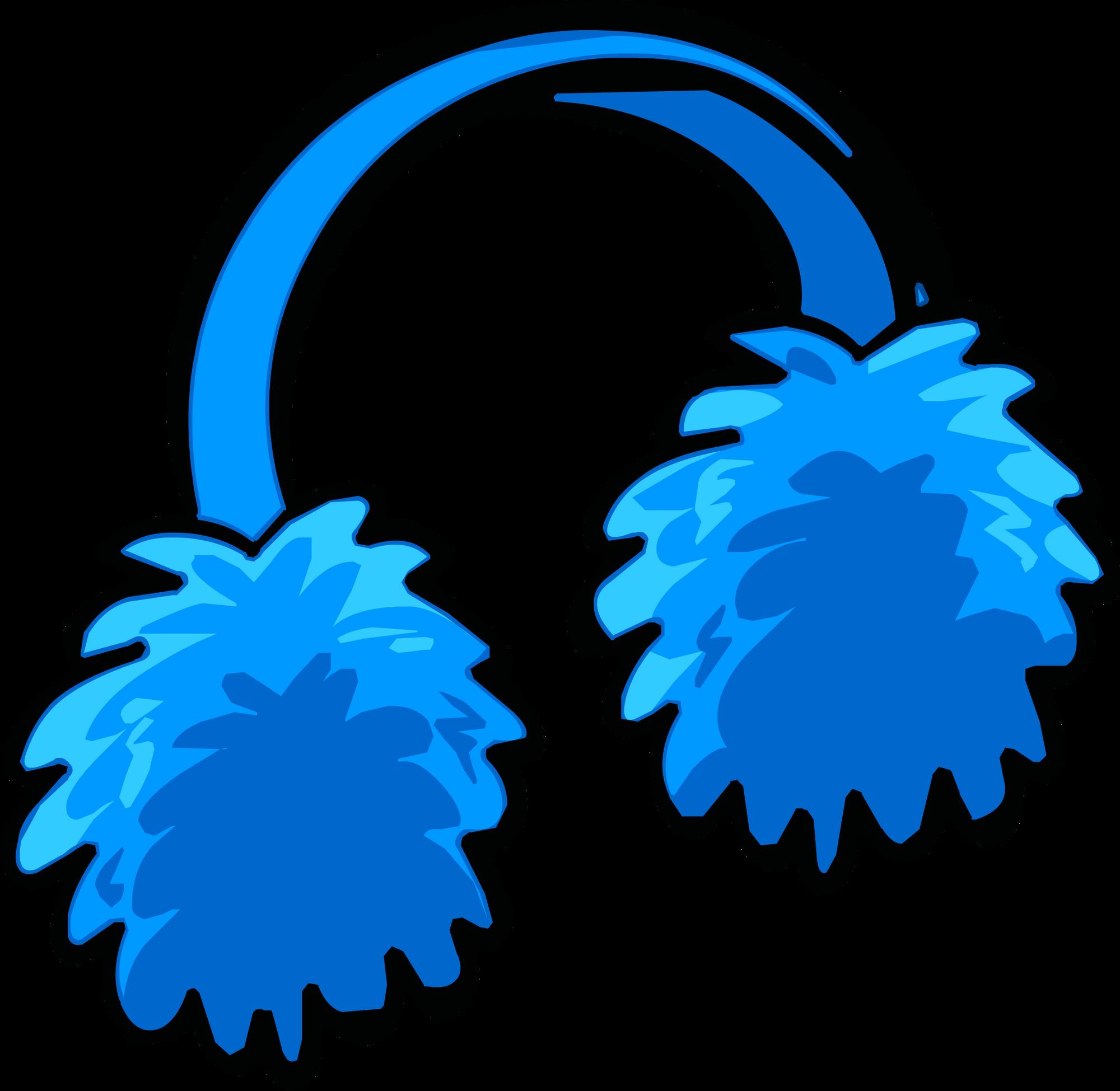 9c02994a7b0 Blue Earmuffs (Puffle Hat)