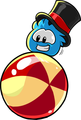 File:Blue Puffle With Hat.png