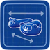 Blueprint Bear Slippers icon