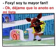Foxy y sus fans