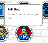Full dojo stamp book