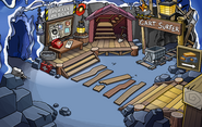 Operation Puffle construction Mine