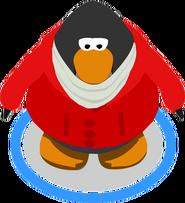 Striking Red Jacket ingame