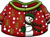 Silly Snowman Sweater