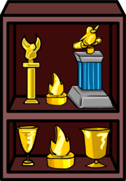 Trophy Shelf furniture icon