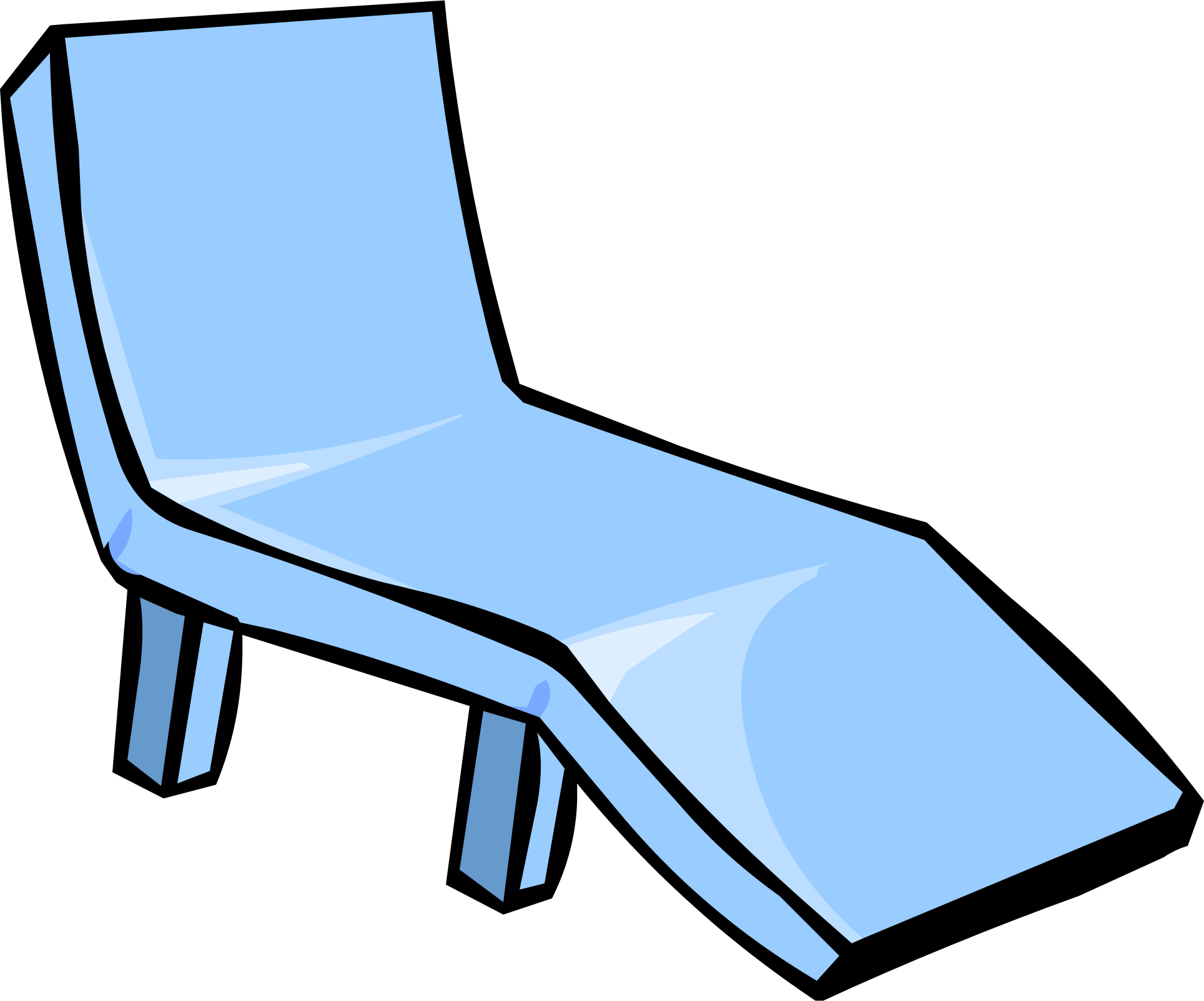 Image Blue Deck Chair PNG Club Penguin Wiki