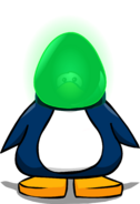 Bombilla Verde tarjeta