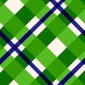 Green Plaid Background