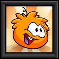 Orange Puffle Picture furniture icon