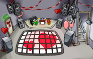Valentine's Day Celebration Night Club