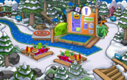 Bosque Fiesta de la Isla de Club Penguin 2