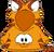 Cangurito de Gato Atigrado Naranja icono