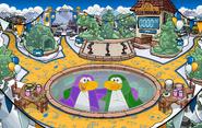 Fiesta Sigan Pingüineando Fuerte Nevado