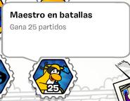 Maestro en batallas (album de estampillas)