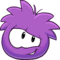 Puffle 2014 Transformation Player Card Purple