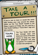 Tour Booth January 2007 Advertisement CPT