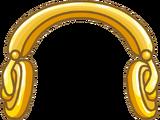 Audifonos Dorados