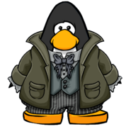 Gravedigger Suit from a Player Card