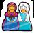 Pin de Anna y Elsa icono