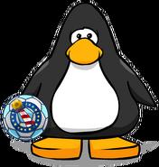 Balón de la Copa Club Penguin carta