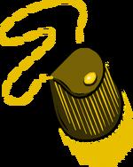Bolso con Flecos Dorados icono