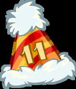 Bonete de 11vo aniversario