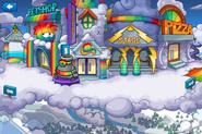 Plaza Fiesta del Puffle Multicolor