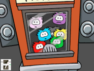 Trapped elite puffles