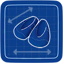Blueprint Ballet Flats icon