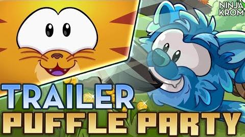 Club Penguin Fiesta de Puffles 2014 Trailer - Comercial Tv 720p