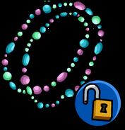 Collar Doble de Perlas icono desbloqueable