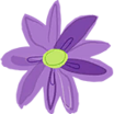 Decal Purple Flower icon