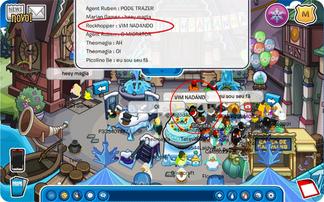 Rockhopper chega a Ilha nadando Club Penguin 2016