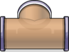 T-joint Puffle Tube sprite 055