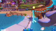 Waddle On Party Boardwalk slide