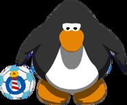 Balón de la Copa Club Penguin sprites