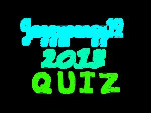 Jazzypengy12 2013 Quiz