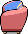 Pink Sofa sprite 003