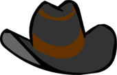 Black Cowboy Hat clothing icon ID 433