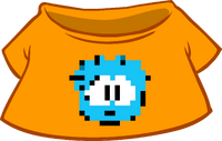 Camiseta de Puffle Pixelado icono