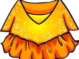 Gold Figure Skating Dress